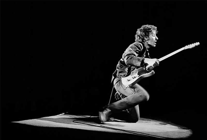 Bruce Springsteen Onstage in Spotlight, NYC, 1978