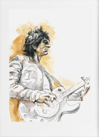 Live Studies - Ronnie Wood, 2012