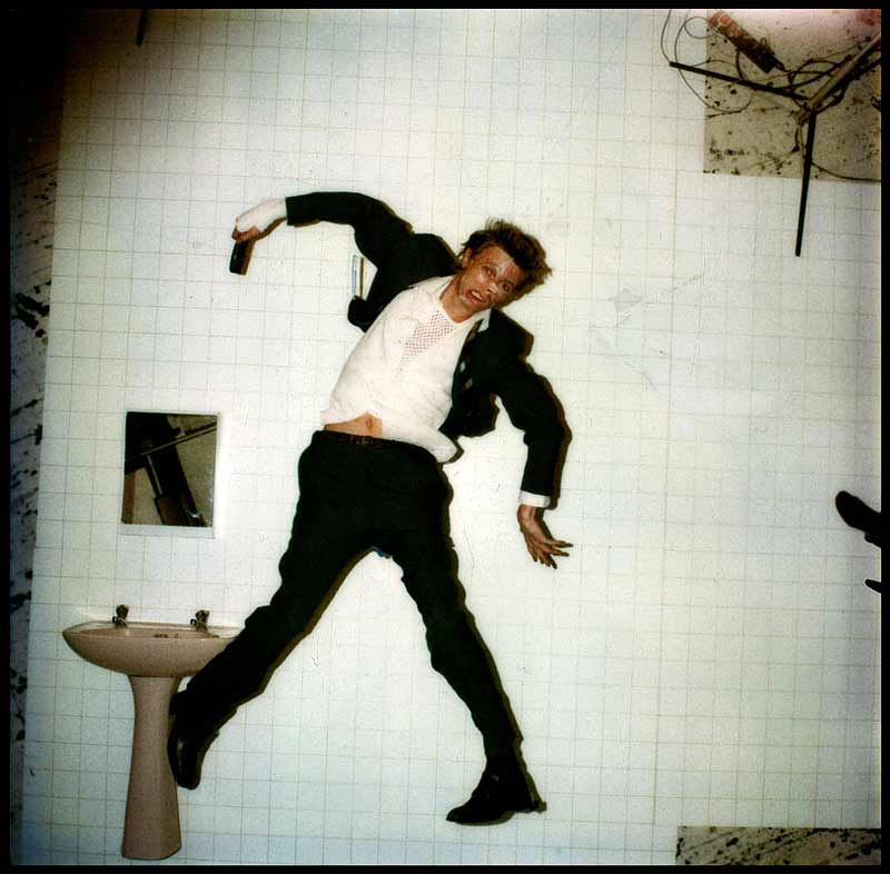 David Bowie, Lodger Original Polaroid, 1979
