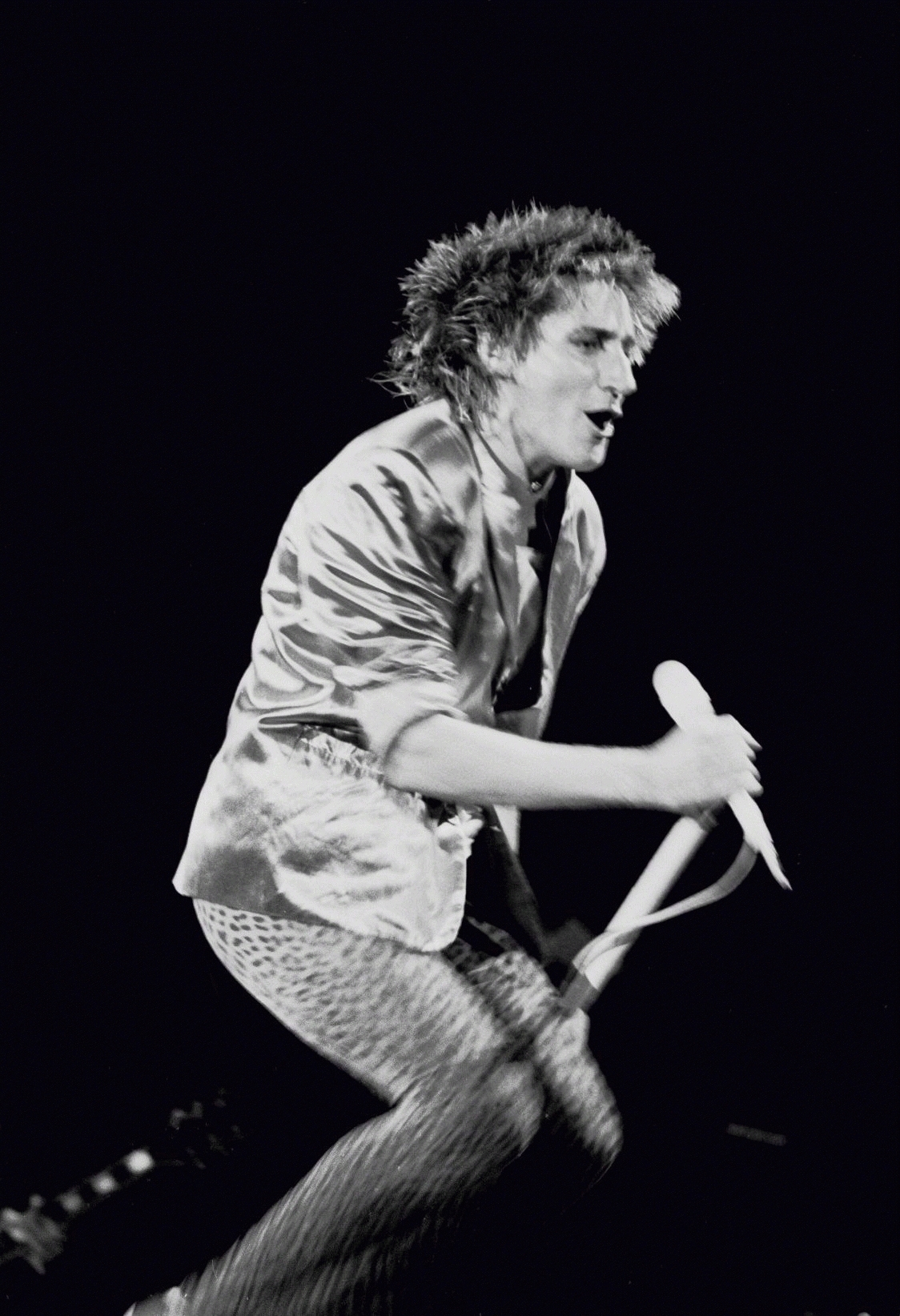 Rod Stewart, Cow Palace, San Francisco, 1981