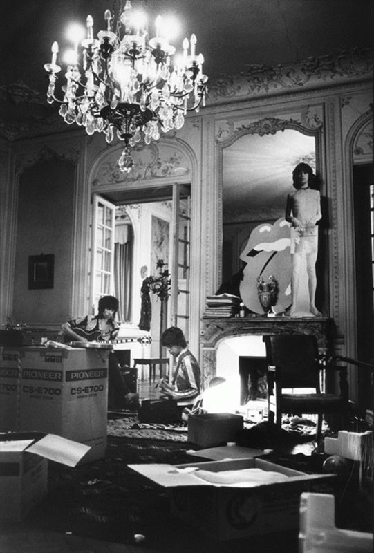 Keith Richards & Mick Jagger, Les Cartons, Nellcôte, France, 1971
