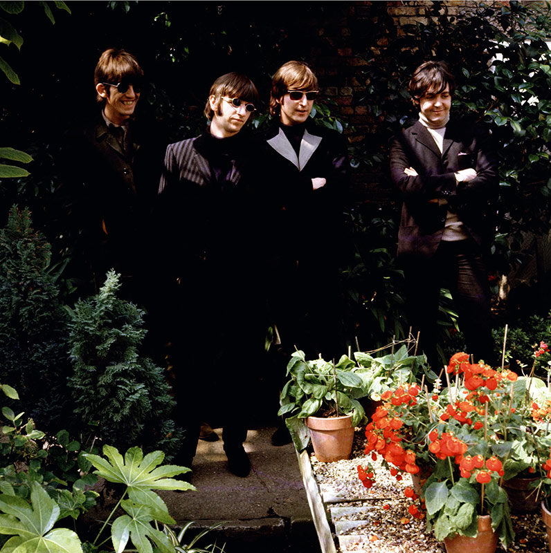 The Beatles, Potting Shed, Chiswick Park, London, 1966