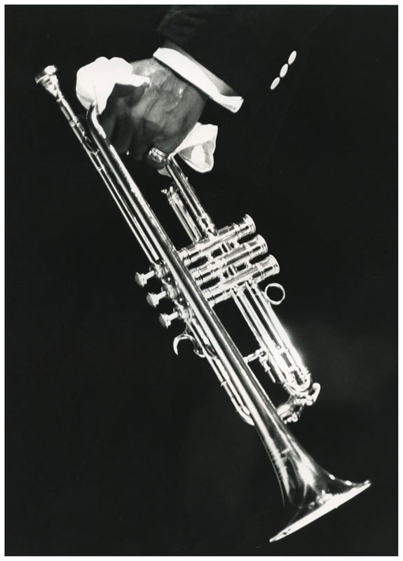 Louis Armstrong's Trumpet, NYC, 1960