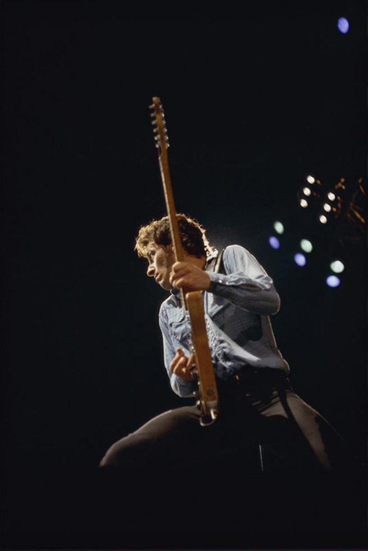 Bruce Springsteen In Concert, Oakland, CA, 1980 (Vertical)