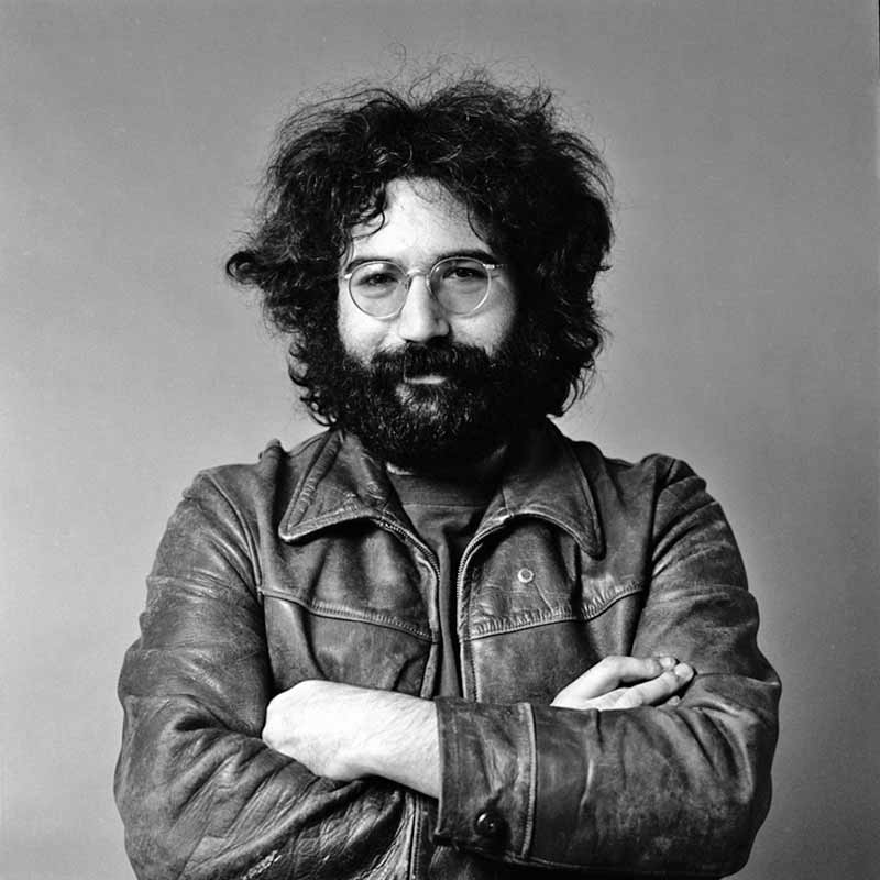 Jerry Garcia, San Francisco - Arms Crossed, 1969