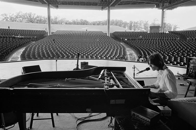 Jackson Browne Soundcheck, Clarkston, MI, 1977