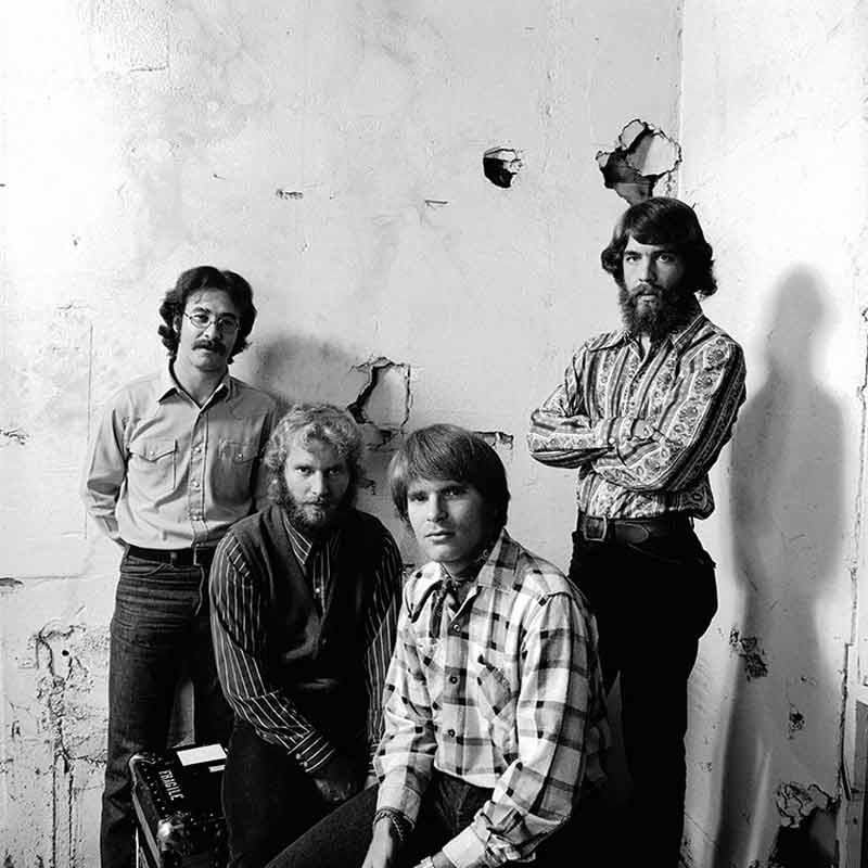 Creedence Clearwater Revival Band Portrait, Fantasy Records, Berkeley, CA, 1970