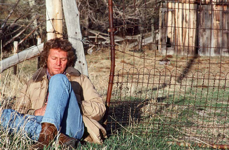 Steve McQueen, Born Again, Montana, 1978 (Eyes Closed)