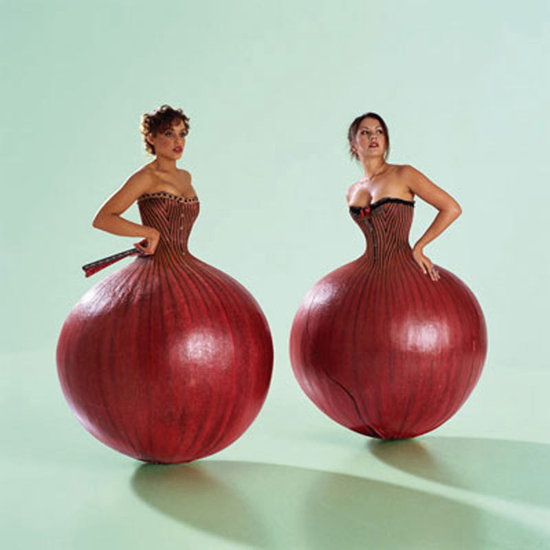 Umphrey's Mcgee, The Bottom Half Album Cover (Onion Ladies), 2007