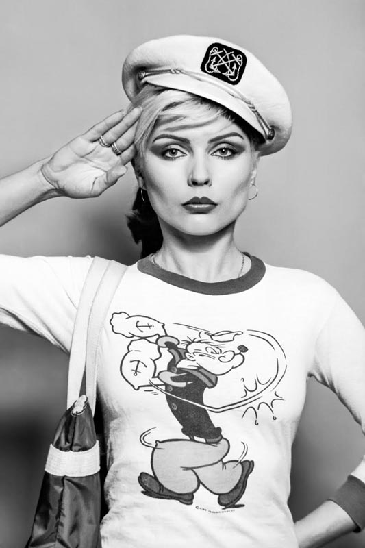 Debbie Harry Portrait in Sailor Hat (Salute), NYC, 1978
