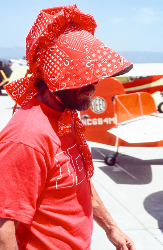 Steve McQueen, Incognito, Watsonville Fly-In and Air Show, 1979