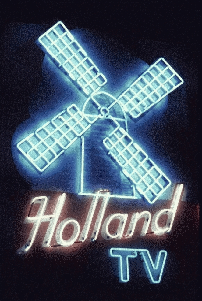 San Francisco Neon Series, Holland TV Motel, 1980
