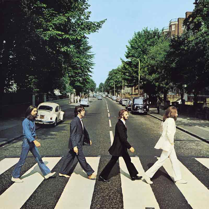 Abbey Road Album Front Cover, London, 1969