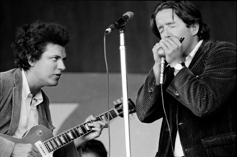 Michael Bloomfield & Paul Butterfield, Monterey Jazz Festival, Monterey, CA, 1966