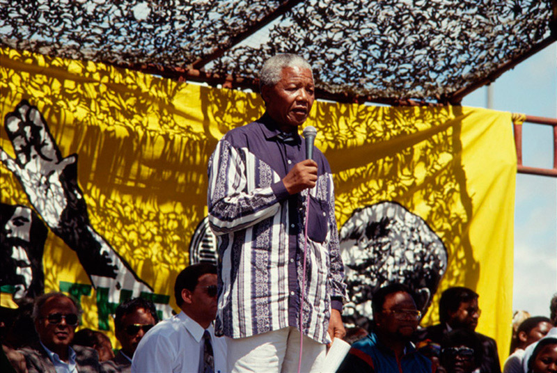 Nelson Mandela on the Campaign Trail, 1994