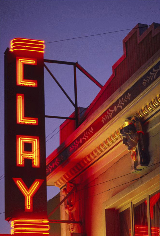 San Francisco Neon Series, Clay Theater, 1980