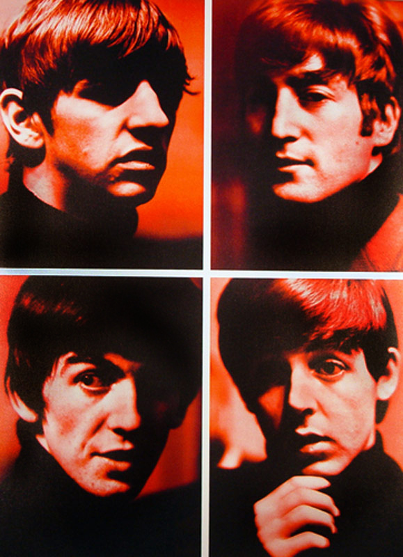 The Fab Four Quad - Red, Liverpool, 1963