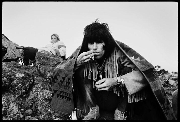 Keith Richards Snorting, Joshua Tree National Park, CA, 1968