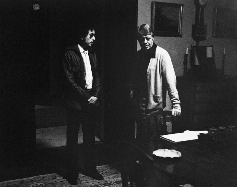 Bob Dylan & Jimmy Carter, Atlanta, GA, 1974