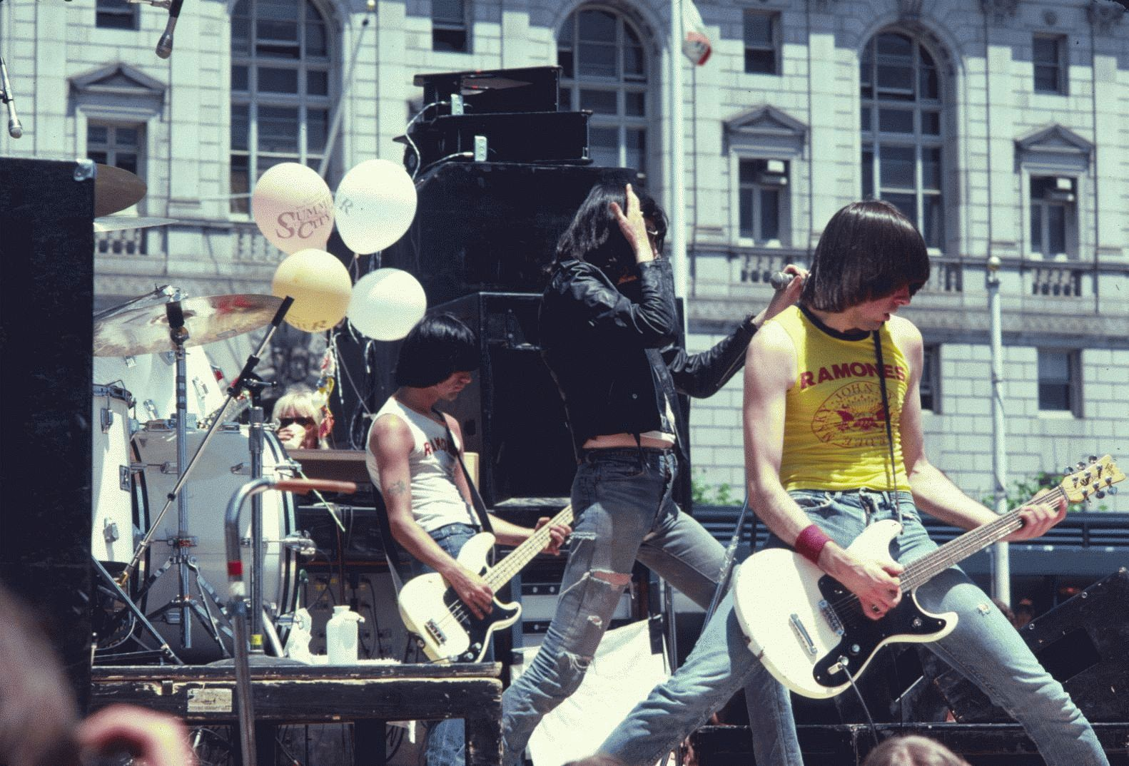 The Ramones, Civic Center, San Francisco, 1979 (Horizontal)