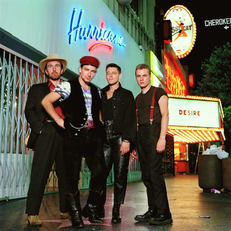 U2 Desire, Hollywood, 1988