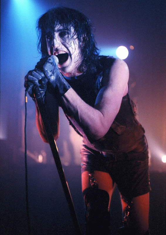 Trent Reznor Performing, The Forum, London, 1994