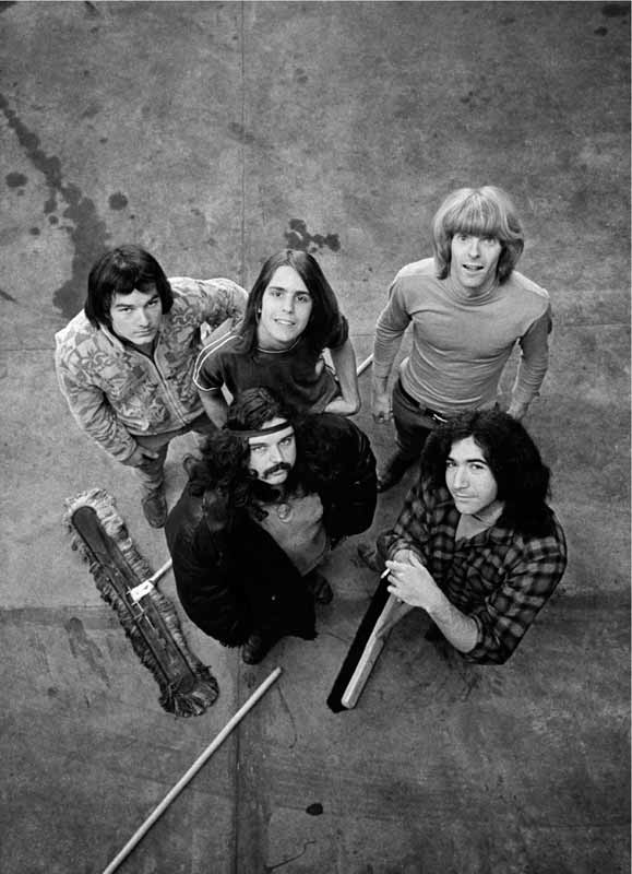The Grateful Dead with Brooms, 1967
