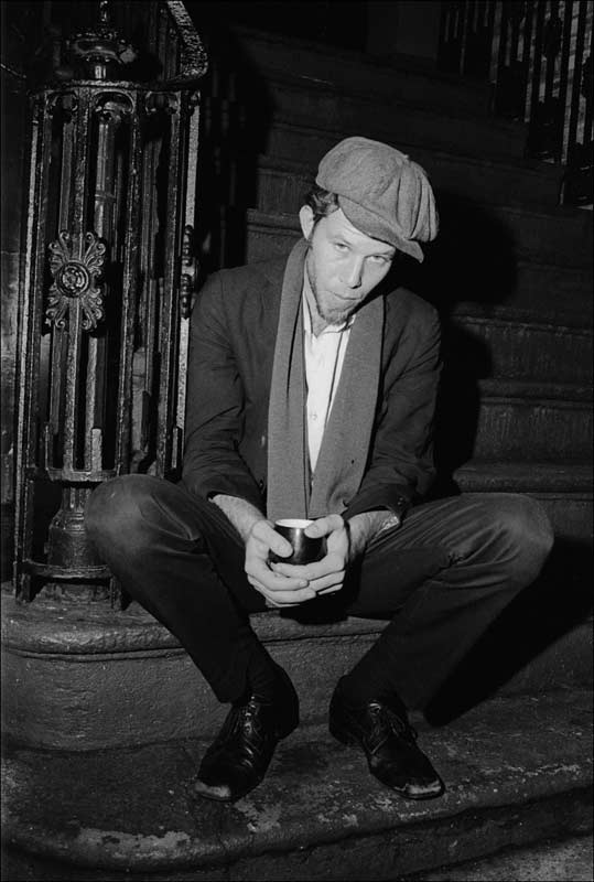 Tom Waits Outside of Reno Sweeney, Greenwich Village, NYC, 1975