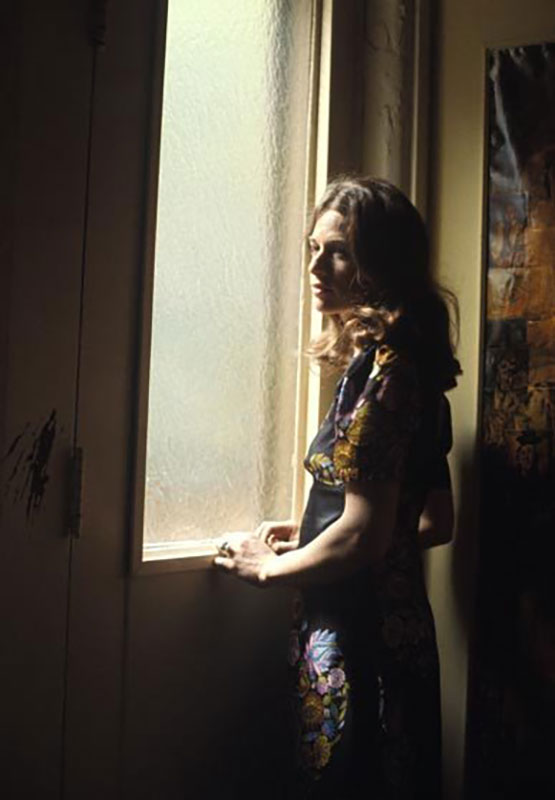 Carole King Standing in the Window, 1970