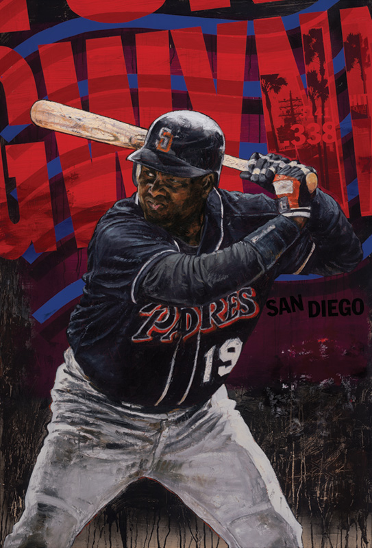 Tony Gwynn, Hall of Fame 2007 - San Diego Padres