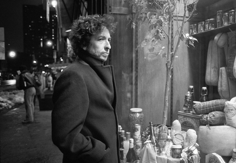 Bob Dylan, Food Store Window, NYC, 1983