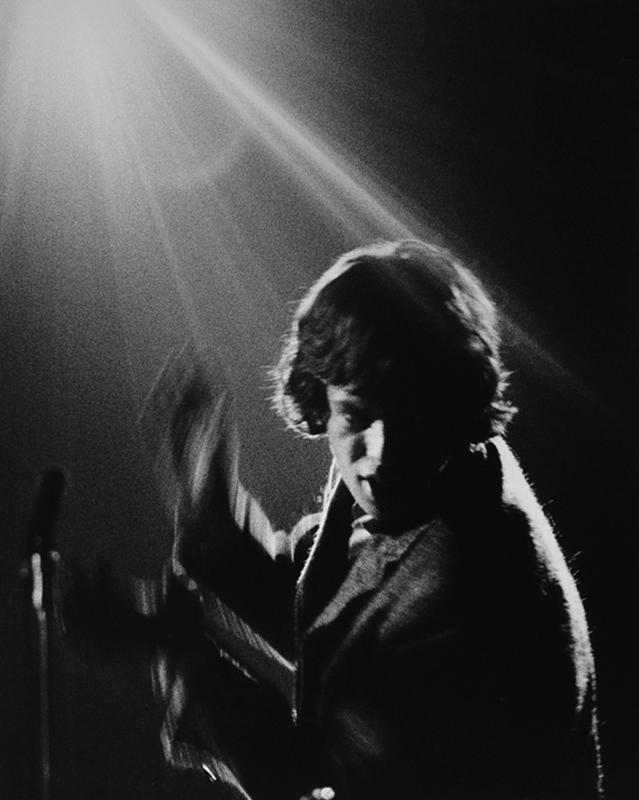 Mick Jagger in Spotlight, US Tour, 1965