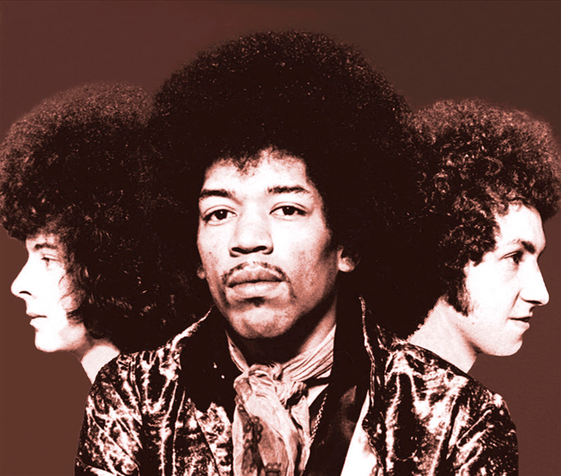 Jimi Hendrix, Axis Bold As Love Group Portrait, London, 1967