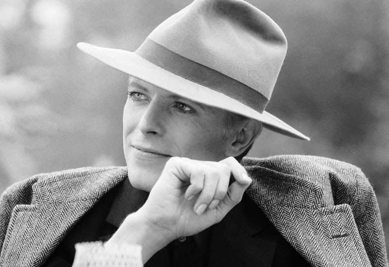 David Bowie in Hat, Los Angeles, c. 1976