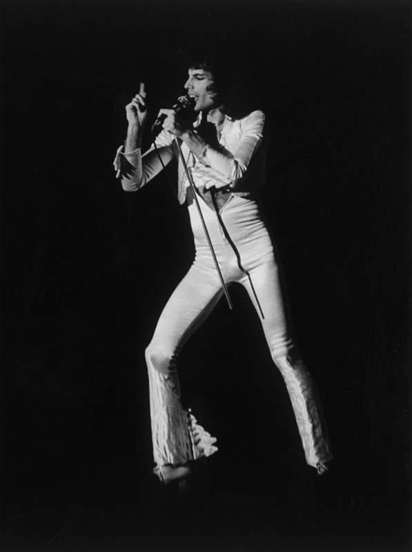 Freddie Mercury,  San Francisco 1976