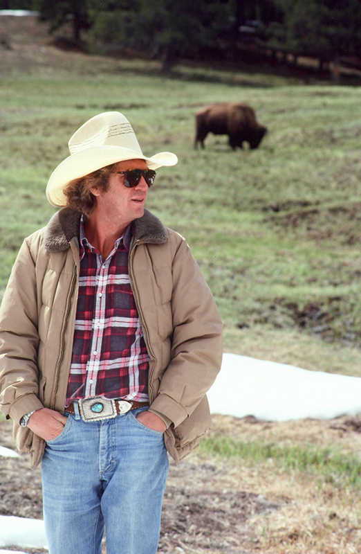 Steve McQueen, Where the Buffalo Roam, Montana, 1978