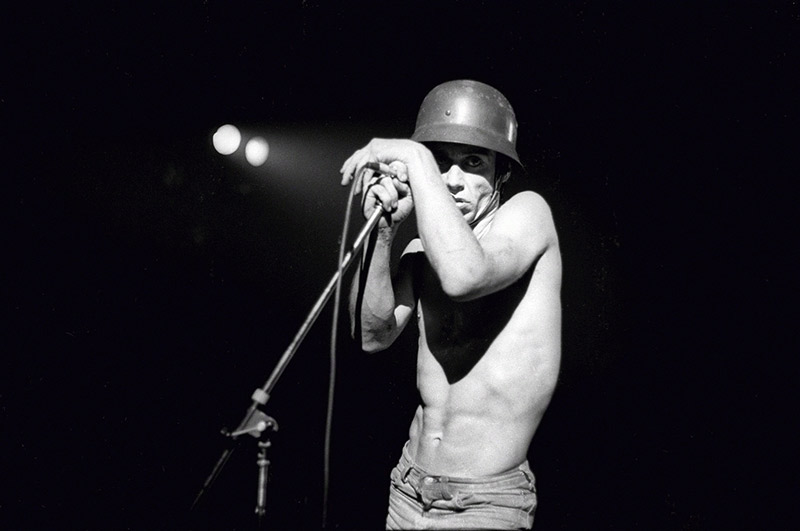 Iggy Pop Onstage, Beacon Theater, NYC, 1977