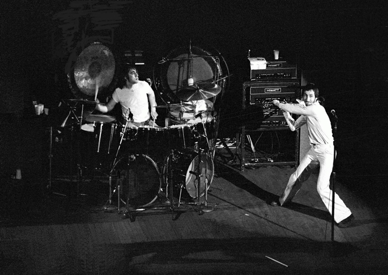 The Who On Stage, Odeon Cinema Newcastle Upon Tyne, 1977