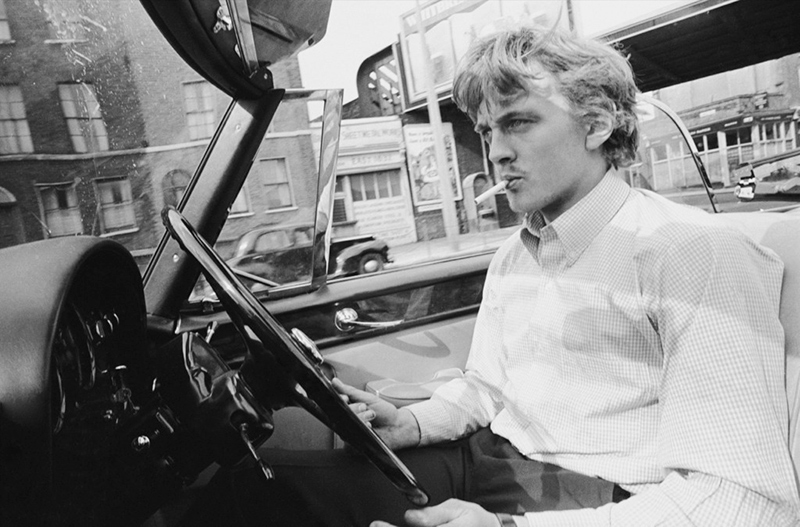 David Hemmings, London, 1966