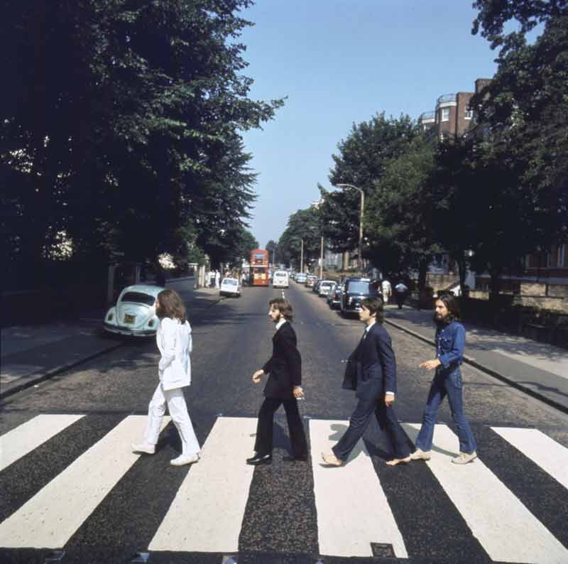 Abbey Road Album Cover Outtake (AB1), London, 1969