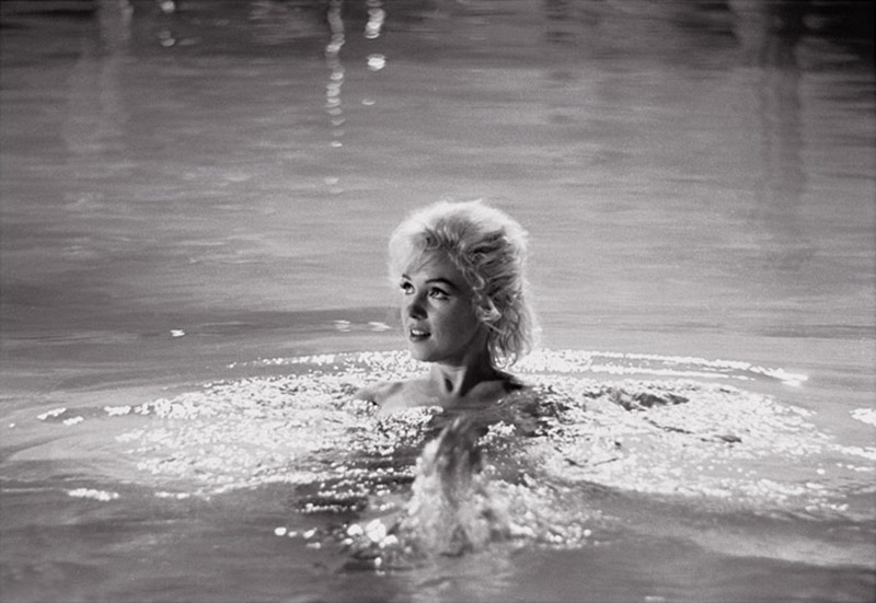 Marilyn Monroe (17), Pool Scene, on the Set of Something's Got to Give, May, 1962