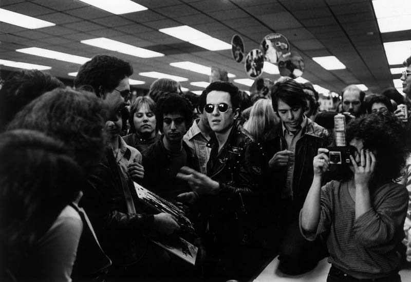 Joe Strummer, Aquarius Records, San Francisco 1979