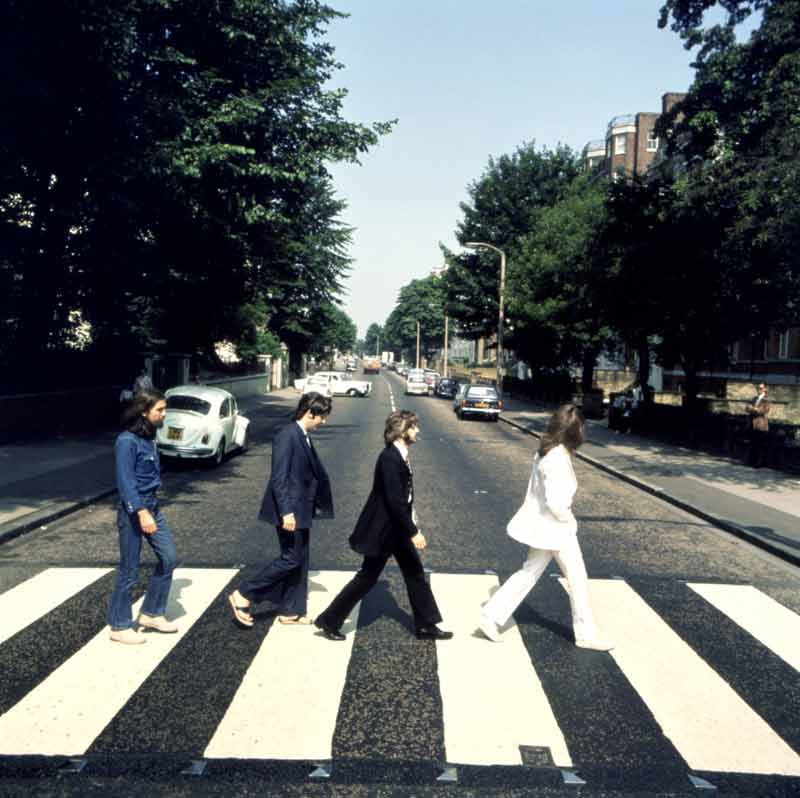Abbey Road Album Cover Outtake (AB2), London, 1969