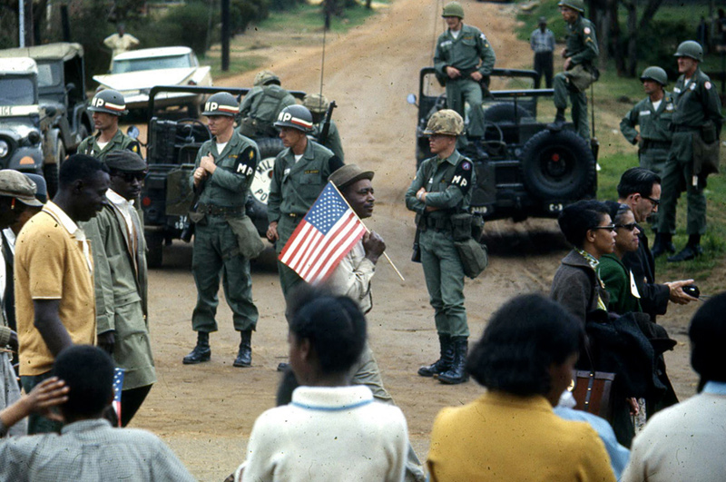 Alabama Freedom March, National Guard, 1965