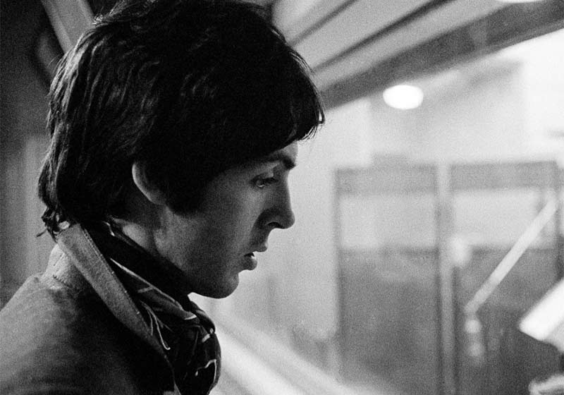 Paul McCartney, Decca Studios, London, 1967