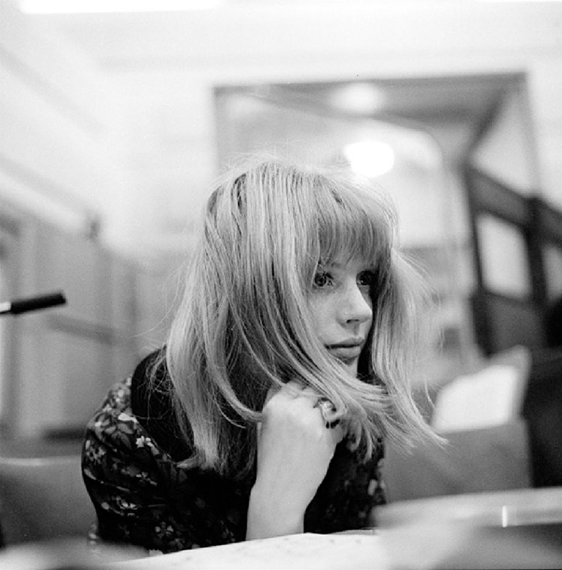 Marianne Faithfull Recording, Decca Studios, London, 1964