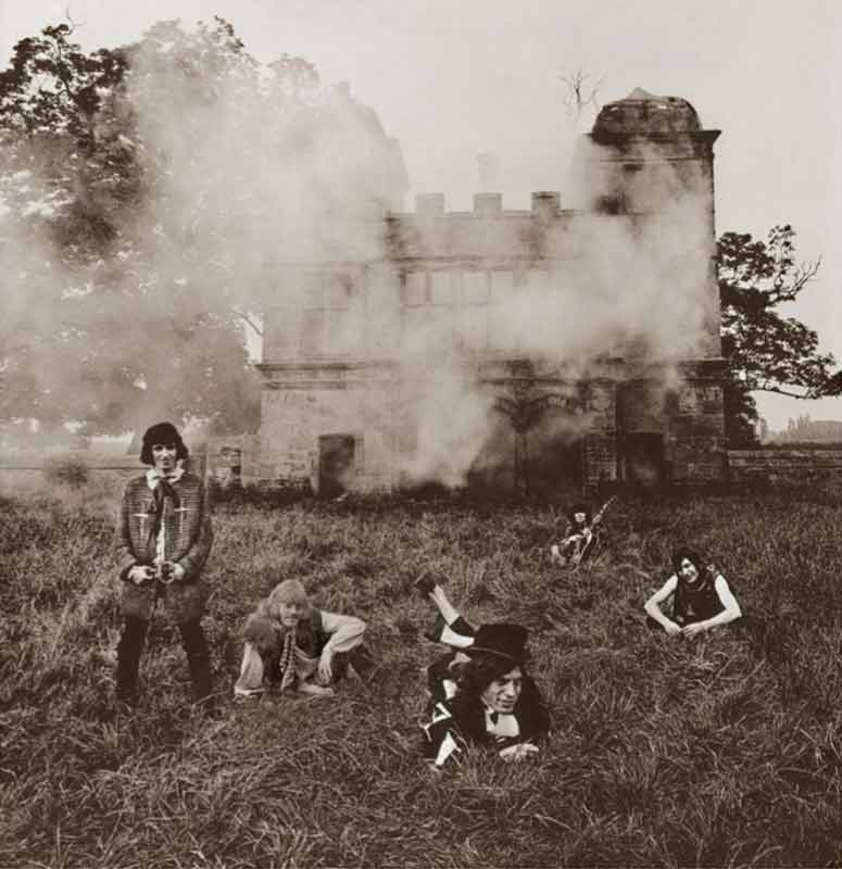 The Rolling Stones - Stones at Swarkestone, Derbyshire, 1968