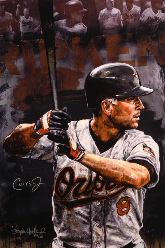 Cal Ripken Jr. - Baltimore Orioles, '07 Hall Of Fame