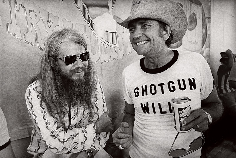 Leon Russell and Willie Nelson, Texas 1976