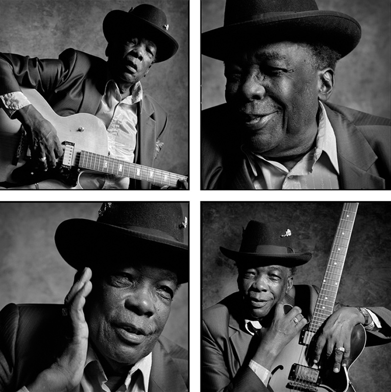John Lee Hooker Portrait Quad, Redwood City, 1992